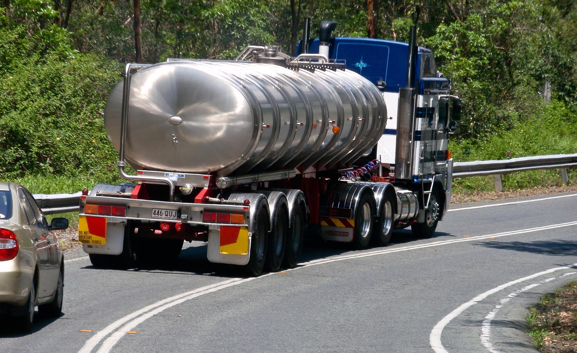 paliwo, ciężarowy, pojazd