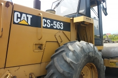 Walec kołowy CAT CS-563
